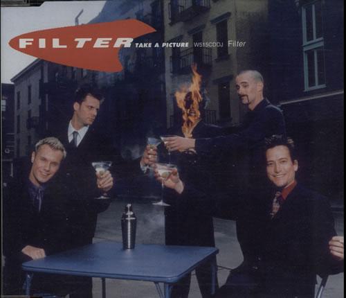 "Filter Take A Picture CD single (CD5 / 5"") UK FILC5TA154932"