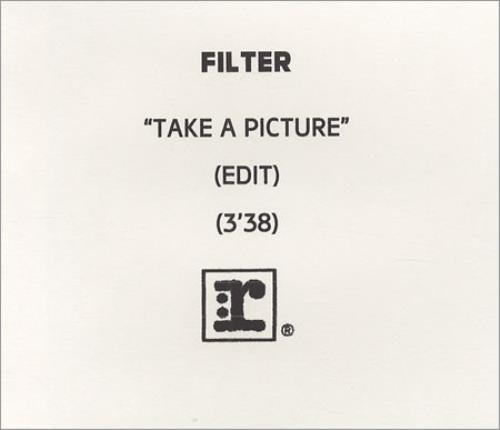 Filter Take A Picture CD-R acetate UK FILCRTA160359
