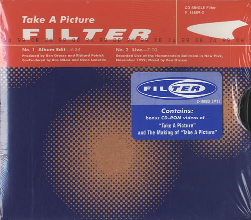 """Filter Take A Picture US CD single (CD5 / 5"""") (464088)"""