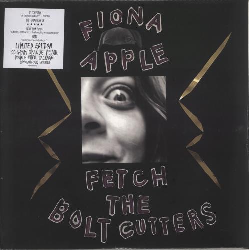 Fiona Apple Fetch The Bolt Cutters - 180 Gram Opaque Pearl - Sealed 2-LP vinyl record set (Double Album) UK FIA2LFE749500