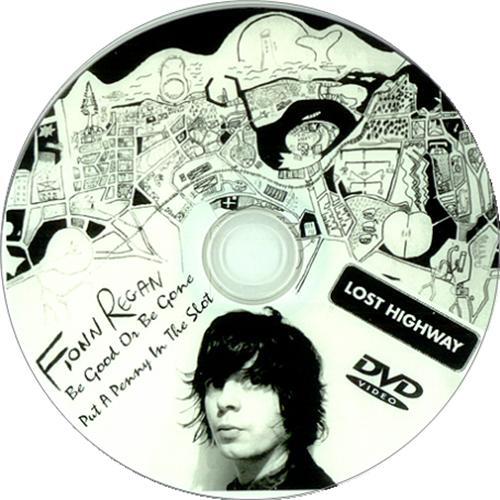 Fionn Regan Be Good Or Be Gone promo DVD-R US FA3DRBE426720