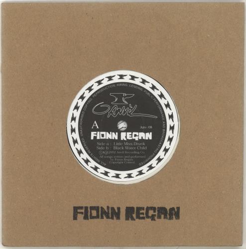 """Fionn Regan Little Miss Drunk 7"""" vinyl single (7 inch record) UK FA307LI702028"""