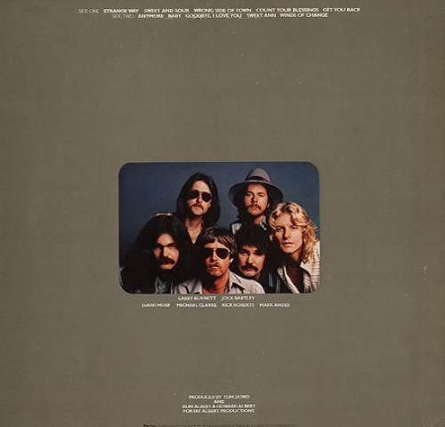 Firefall Elan vinyl LP album (LP record) Japanese FFLLPEL162701