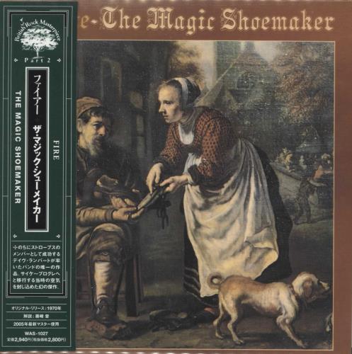 Fire (70s) The Magic Shoemaker CD album (CDLP) Japanese FI1CDTH395908