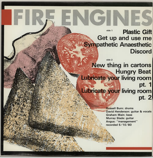 Fire Engines Lubricate Your Living Room + Carrier bag vinyl LP album (LP record) UK FIRLPLU420284
