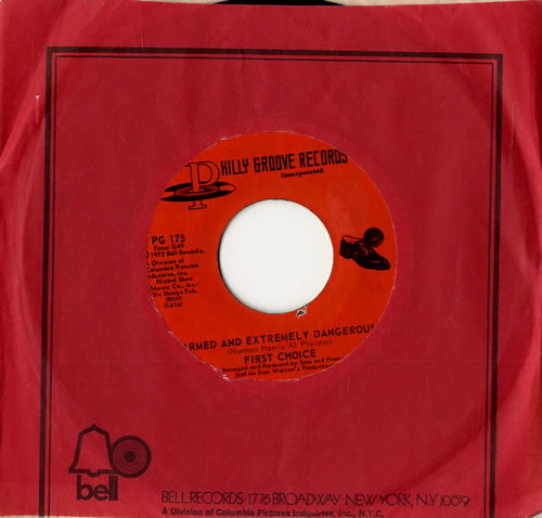 "First Choice Armed And Extremely Dangerous 7"" vinyl single (7 inch record) US FCH07AR558966"