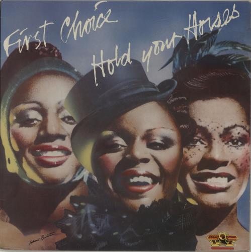 First Choice Hold Your Horses vinyl LP album (LP record) UK FCHLPHO686204