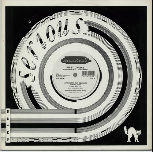 """First Choice Let No Man Put Asunder 12"""" vinyl single (12 inch record / Maxi-single) UK FCH12LE640673"""