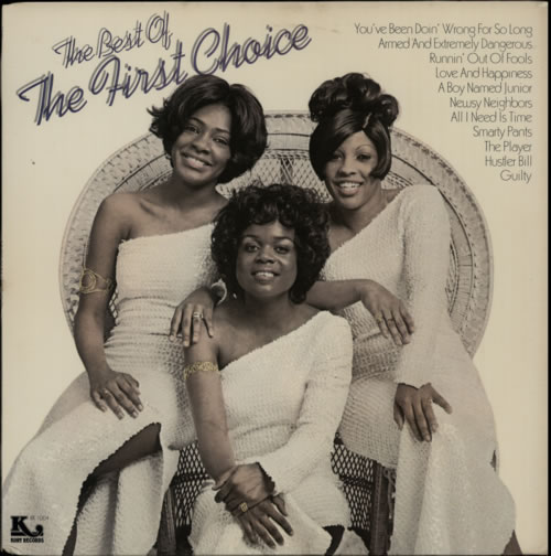 First Choice The Best Of The First Choice vinyl LP album (LP record) US FCHLPTH610186