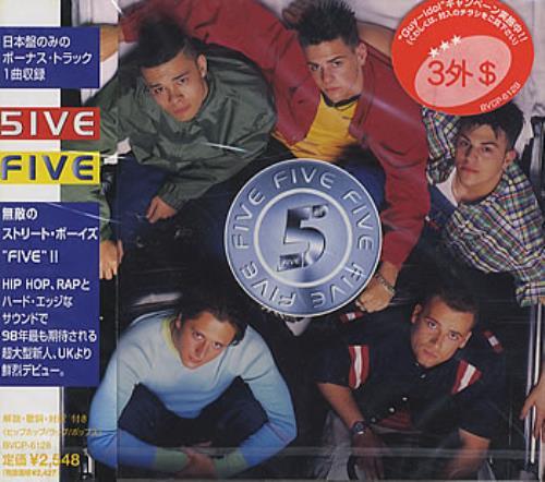 Five Five CD album (CDLP) Japanese FVECDFI135230