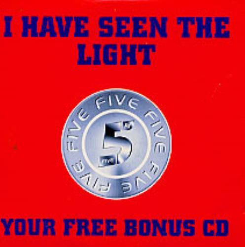 "Five I Have Seen The Light CD single (CD5 / 5"") UK FVEC5IH232375"