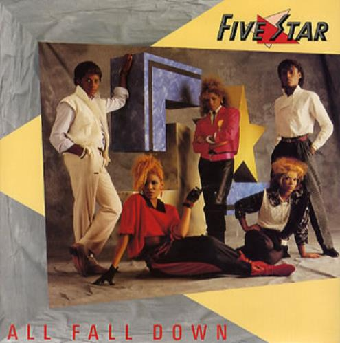 "Five Star All Fall Down 7"" vinyl single (7 inch record) UK FIV07AL297952"