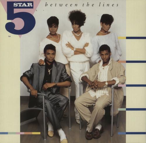Five Star Between The Lines vinyl LP album (LP record) UK FIVLPBE257547