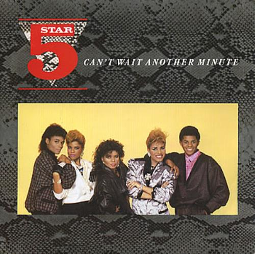 """Five Star Can't Wait Another Minute 7"""" vinyl single (7 inch record) UK FIV07CA273244"""