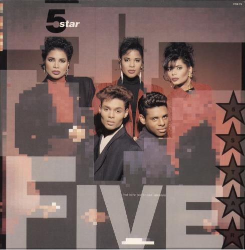 "Five Star Hot Love 12"" vinyl single (12 inch record / Maxi-single) UK FIV12HO24478"