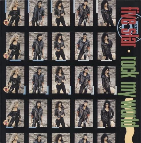"Five Star Rock My World 12"" vinyl single (12 inch record / Maxi-single) UK FIV12RO187550"