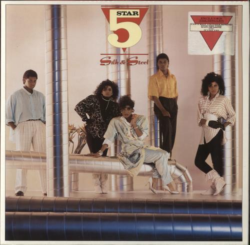 Five Star Silk & Steel + Poster vinyl LP album (LP record) UK FIVLPSI240840