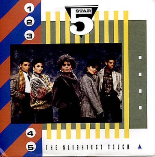 "Five Star The Slightest Touch - P/S 7"" vinyl single (7 inch record) UK FIV07TH298192"