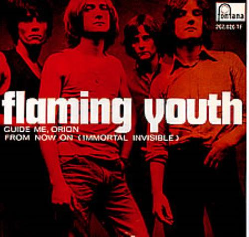 "Flaming Youth Guide Me, Orion 7"" vinyl single (7 inch record) Swedish FYH07GU278962"