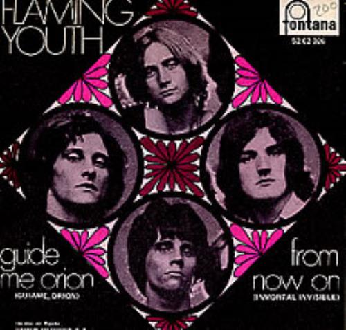 "Flaming Youth Guide Me, Orion 7"" vinyl single (7 inch record) Spanish FYH07GU278968"