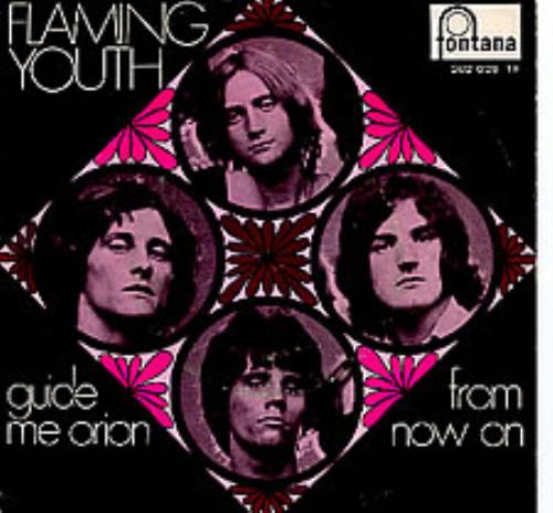 "Flaming Youth Guide Me, Orion 7"" vinyl single (7 inch record) Dutch FYH07GU278970"