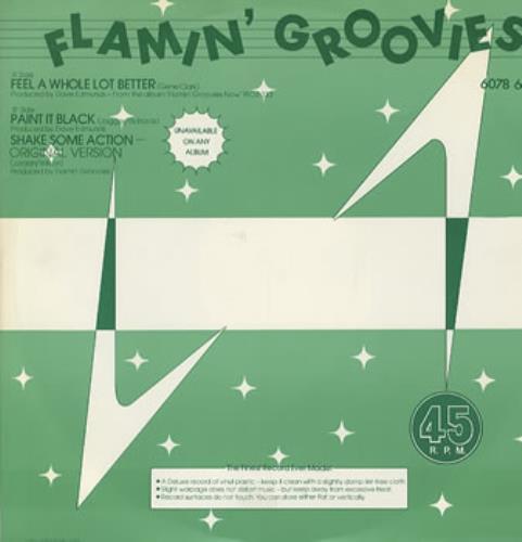 "Flamin' Groovies Feel A Whole Lot Better 12"" vinyl single (12 inch record / Maxi-single) UK FLA12FE325088"