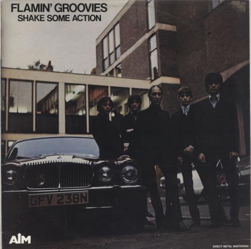 Flamin' Groovies Shake Some Action vinyl LP album (LP record) Australian FLALPSH734155