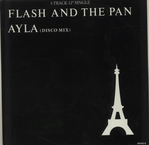 "Flash And The Pan Ayla 12"" vinyl single (12 inch record / Maxi-single) UK FHN12AY684794"