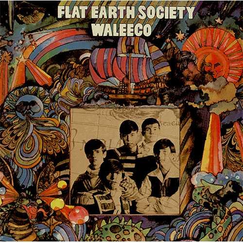 Flat Earth Society Waleeco vinyl LP album (LP record) UK FEXLPWA407820