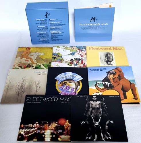Fleetwood Mac 1969 To 1974 CD Album Box Set UK MACDXTO767026