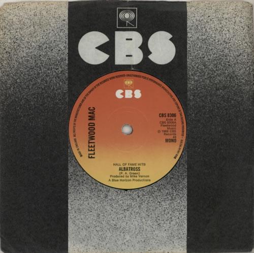 """Fleetwood Mac Albatross - Solid 7"""" vinyl single (7 inch record) UK MAC07AL586568"""
