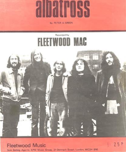 Fleetwood Mac Albatross Uk Sheet Music 340839 Sheet Music