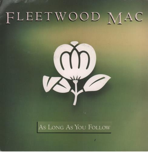"Fleetwood Mac As Long As You Follow 7"" vinyl single (7 inch record) UK MAC07AS581320"