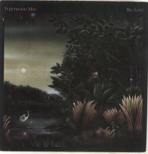 "Fleetwood Mac Big Love - Inj 7"" vinyl single (7 inch record) UK MAC07BI651456"