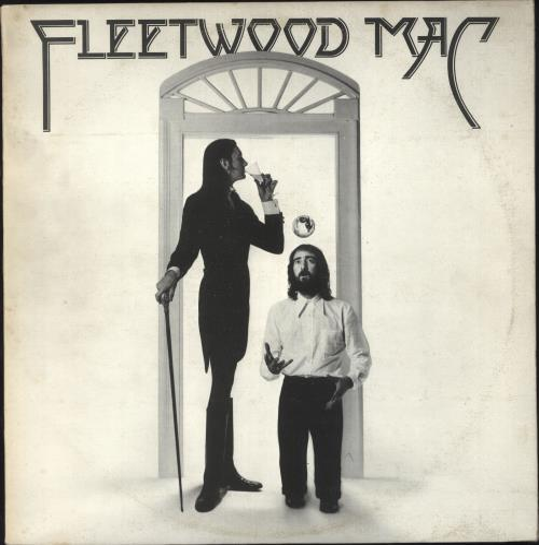Fleetwood Mac Fleetwood Mac - Textured + Insert - EX vinyl LP album (LP record) UK MACLPFL624170