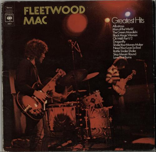 Fleetwood Mac Greatest Hits - 1st - EX vinyl LP album (LP record) UK MACLPGR568897