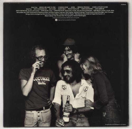 Fleetwood Mac Heroes Are Hard To Find vinyl LP album (LP record) UK MACLPHE298933