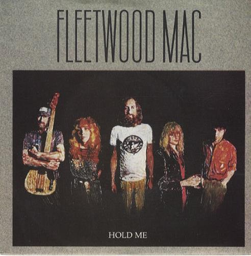 "Fleetwood Mac Hold Me 7"" vinyl single (7 inch record) UK MAC07HO159859"