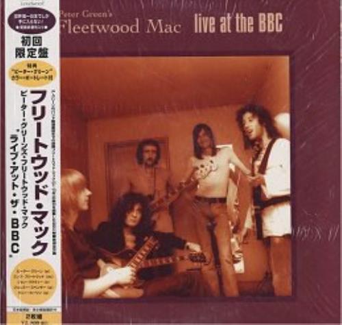Fleetwood Mac Live At The BBC 2-LP vinyl record set (Double Album) Japanese MAC2LLI63326