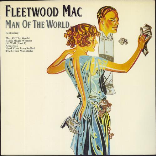 Fleetwood Mac Man Of The World vinyl LP album (LP record) UK MACLPMA240378