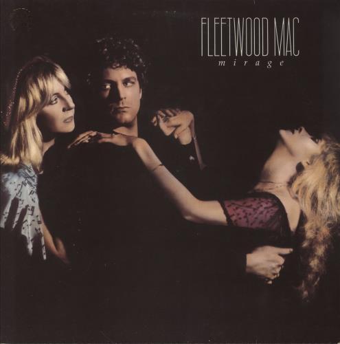 Fleetwood Mac Mirage - gold promo stamp vinyl LP album (LP record) UK MACLPMI654705