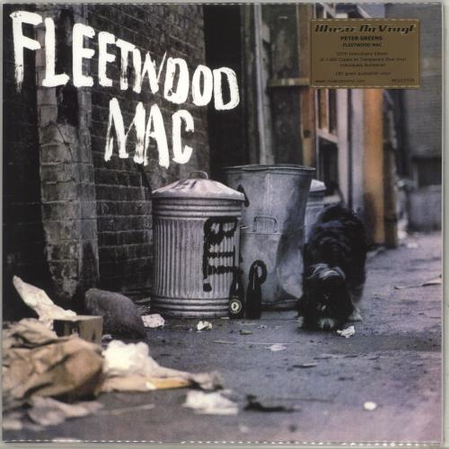 Fleetwood Mac Peter Green's Fleetwood Mac - 180gram Blue Vinyl + Numbered Sleeve - Sealed vinyl LP album (LP record) UK MACLPPE707064