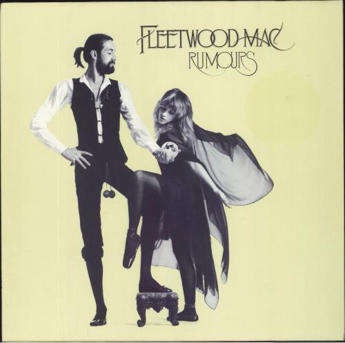 Fleetwood Mac Rumours - 1980s vinyl LP album (LP record) German MACLPRU428725