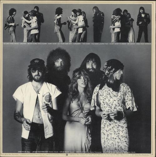 Fleetwood Mac Rumours - 1st + Insert - EX vinyl LP album (LP record) UK MACLPRU571195
