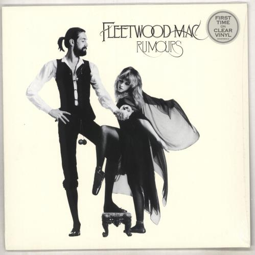 Fleetwood Mac Rumours - Clear Vinyl - Sealed vinyl LP album (LP record) UK MACLPRU734558