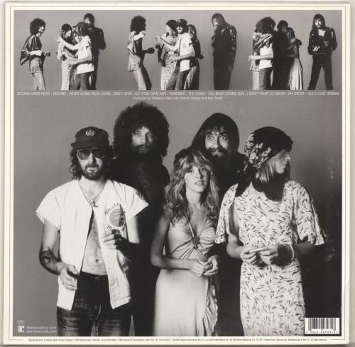 Fleetwood Mac Rumours - Sealed vinyl LP album (LP record) UK MACLPRU700458