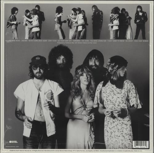 Fleetwood Mac Rumours - Sealed vinyl LP album (LP record) UK MACLPRU758440