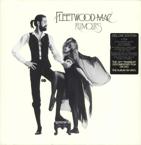 Fleetwood Mac Rumours - stickered slipcase box set US MACBXRU742033