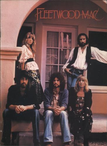 Fleetwood Mac Rumours Tour tour programme UK MACTRRU110782