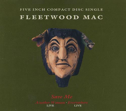 "Fleetwood Mac Save Me CD single (CD5 / 5"") German MACC5SA11574"
